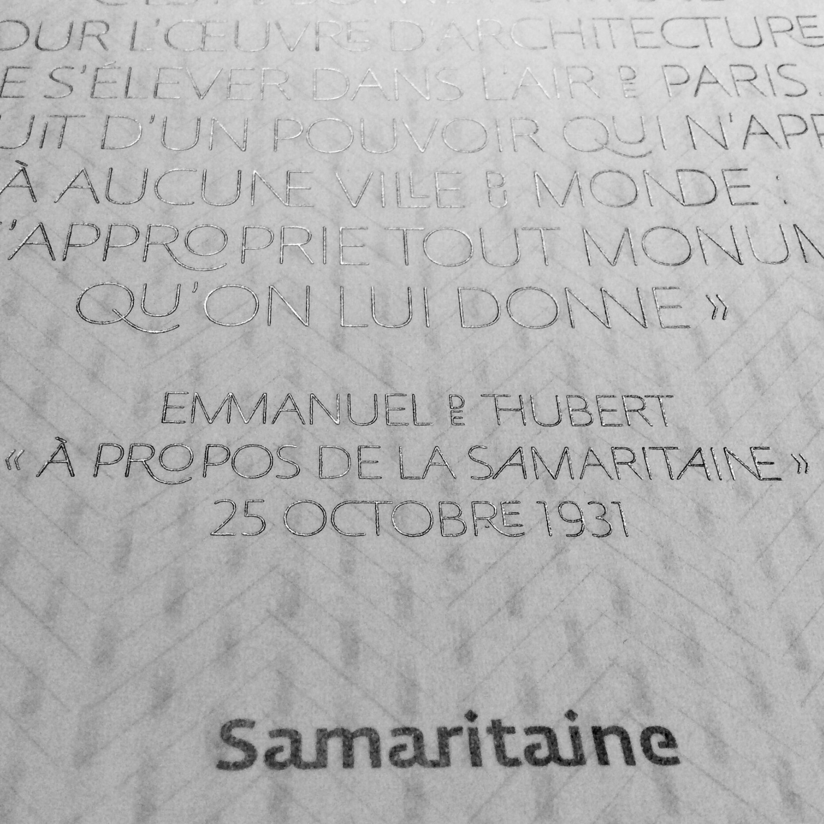 fouinzanardi -  fz_print_rp_com_samaritaine_voeux1